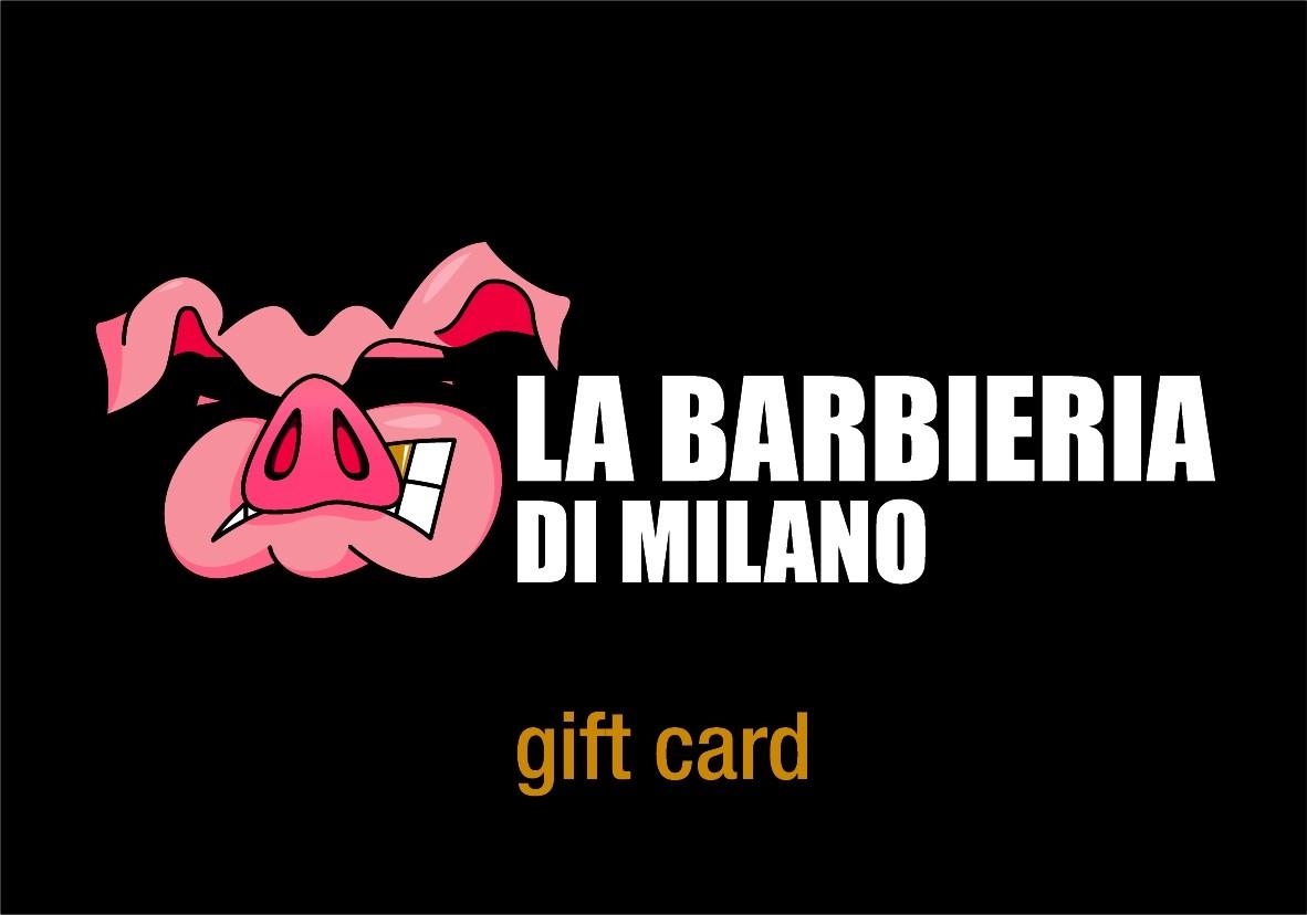 La Barbieria di Milano GIFT CARD