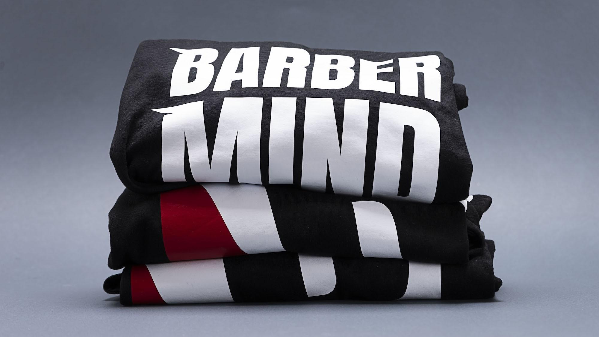 Barber Mind Logo T-Shirt