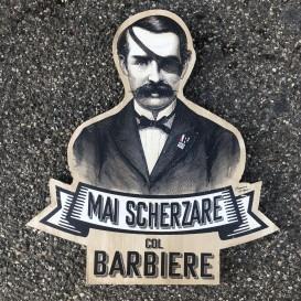 Mai Scherzare col Barbiere - 35 cm